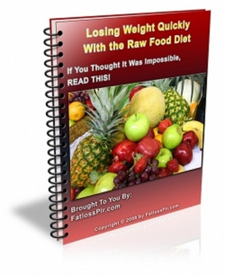 Product picture Losing Weight Quickly With The Raw Food Diet