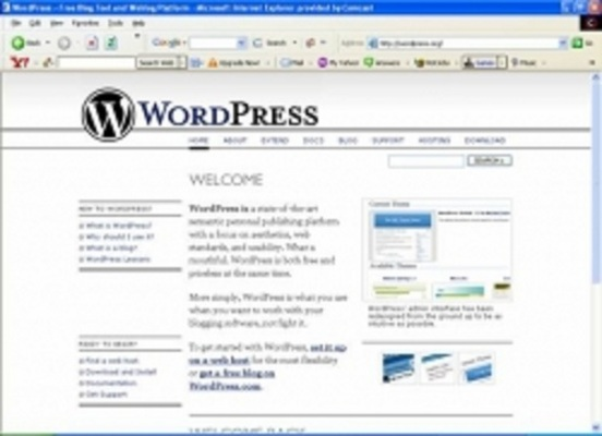 Product picture WordPress: An Incredibly Powerful Blogging system!