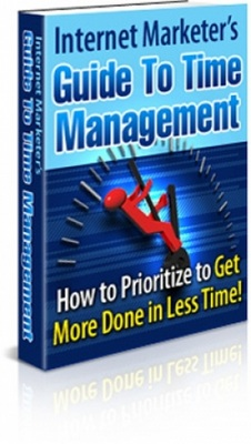 Product picture Internet Marketer Guide To Time Management